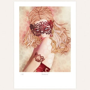 Image of 'Vnitienne' print by lodie