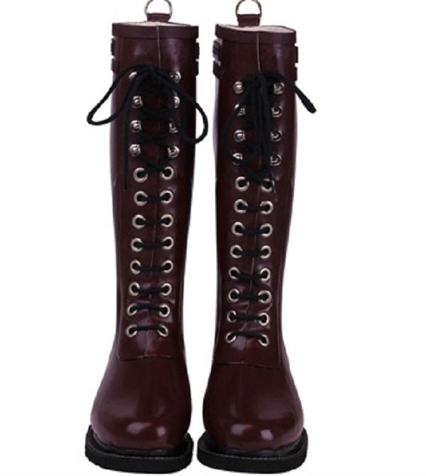 Image of NEW! Ilse Jacobsen Rubber Boots - Tall, Rubino