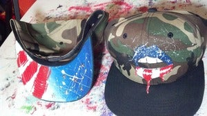 Image of Sweet America Camo snapback