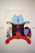 Image of Marceline the Vampire Queen Heraldic Shield