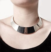 Image of Metal Collar Neck Piece.