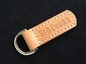Image of Sideburn leather key fobs