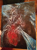 Image of SOLD Bat 8 x 10 Painting