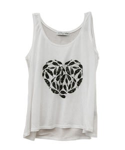Image of FEATHER HEART TANK
