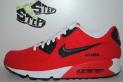 "Image of Nike Air Max 90 Canvas ""Action Red"""