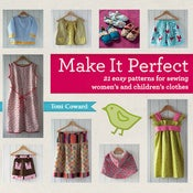 Image of Make it Perfect pattern book by Toni Coward