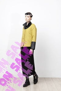 Image of MUSTARD LADY COAT