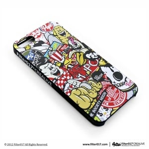 Image of Filter017 iPhone5 Case-Colorful pattern