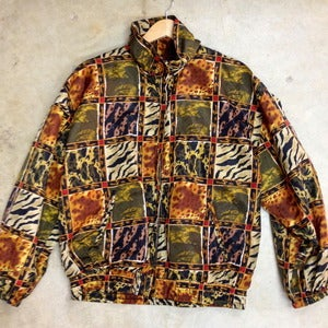 Image of ANIMAL PRINT WINDBREAKER