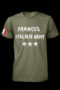 Image of Francos Italian Army