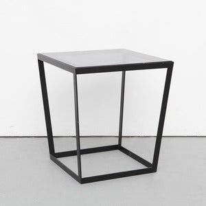 Image of Frame Side Table, Black
