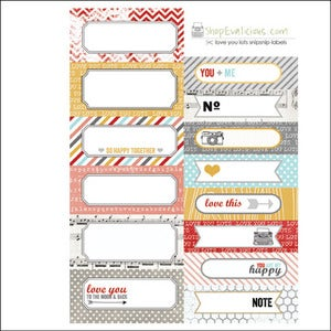 Image of love you lots snipsnip labels