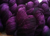 Image of Opus. Handpainted Yarn, &quot;Dark Fuchsia&quot;
