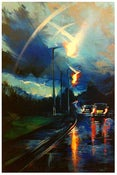 Image of 'Arc Lights' - Original painting