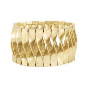 Image of Metal Twist Stretch Bracelet