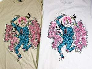 Image of Street Grapes X Wild Life T-Shirt.