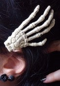 Image of Skeleton Hair Clip