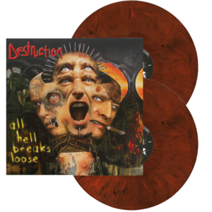 Image of Destruction - All Hell breaks Loose (Orange-Black Mixed Vinyl)