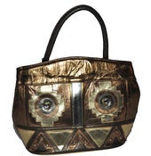 Image of Vintage Metallic Handbag