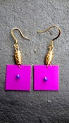 Image of Pink Thayu Earrings