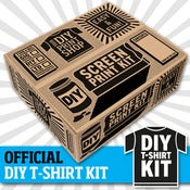 Image of OFFICIAL PRINT LIBERATION DIY SCREEN PRINTING KIT (FREE SIGNED BOOK INC.)