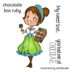 Image of Chocolate Box Ruby