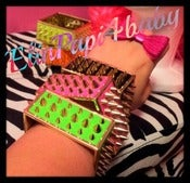 Image of ★Spike Square Bangles★ (NeonColors)
