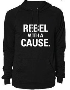 Image of Rebel With A Cause Hoody