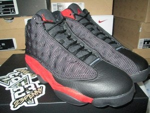 Image of Air Jordan XIII (13) Retro &quot;Black/Varsity Red&quot; 2013 