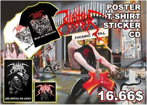 Image of RIOTOR - Death And Destruction XL T-SHIRT & CD $7.99