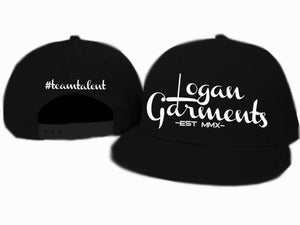 Image of Logan Garments Snapback (BLACK/WHITE)