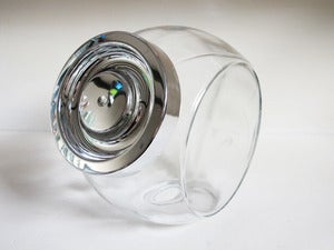 Image of Large Glass Cookie Jar