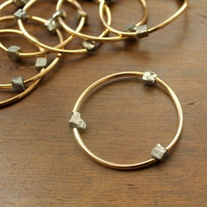 Image of Gold & Pyrite Bracelet