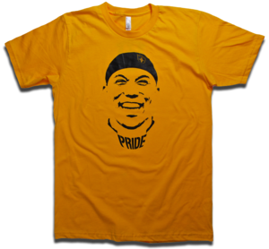 Image of Hines Ward Gold &amp; Black &quot;Pride&quot; tee by Backpage Press