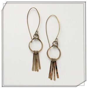 Image of Harpette and Fringe Earrings