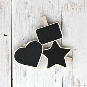 Image of Mini Chalkboard Pegs