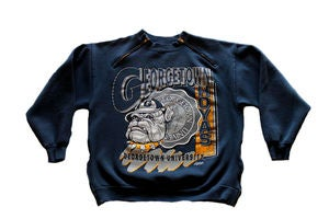 Image of Women's D.Fame Custom &quot;Georgetown&quot; Crewneck
