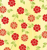 Image of Yellow Mini Floral 5987-44 from the Summer House Collection