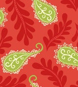 Image of Red Paisley from Summer House  5986-88