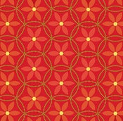 Image of Red Daisy Rings from Summer House 5984-88
