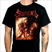Image of SPLATTERED - Album Cover T-Shirt