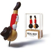 Image of real boy pins