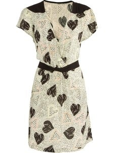 Image of Numph Nellie heart print dress