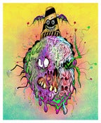 Image of &quot;Toxic Cavitycone&quot; Ultra Limited Print