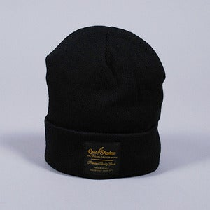 Image of Gold Label Beanie (Black)