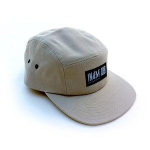 Image of IN4M - KHAKI 5 PANEL CAP