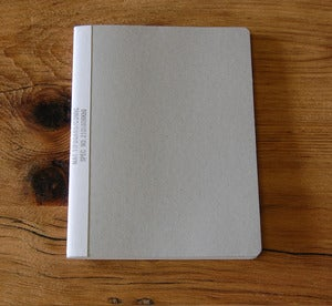 Image of Mucu 8x10 Notebook