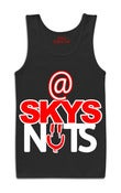 Image of @SKYSNUTS Black Tank