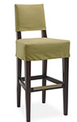 Image of Lee Slipcovered Bar Stool