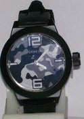 Image of Black Camo Streetwear Watch W/ Silicone Band